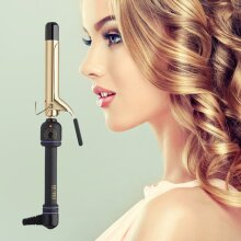 Hot Tools: 24k Gold Salon Curling Iron 25mm