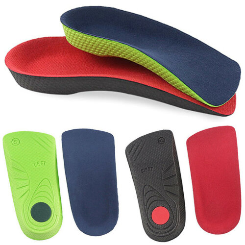 3D Orthotic Flat Feet Foot High Arch Gel Heel Support Shoes Inserts Insoles Pads