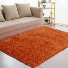 Abaseen Shaggy Rugs Quality Living Room Area Rugs-Terracotta,160 x 230