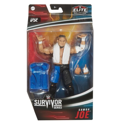 WWE Elite - Survivor Series 2020 - Samoa Joe Figure