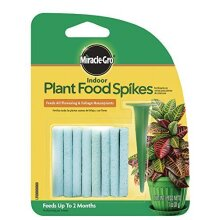 Miracle-Gro Indoor Plant Food Spikes, 1.1-Ounce