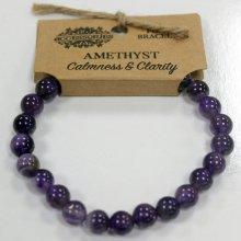 Power Bracelet By Ancient Wisdom-Amethyst