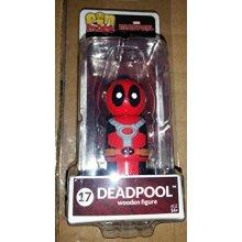 Deadpool Masked Pin Mate Wooden Figure Bif Bang Pow