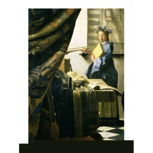 The Artists Studio Poster Print by Johannes Vermeer - 18 x 24 in.