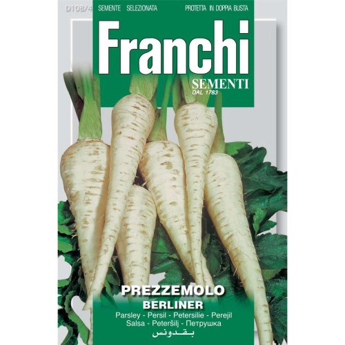 Franchi Seeds of Italy - DBO 108/4 - Parsley - Halflange Berliner - Seeds
