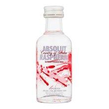 Absolut Raspberri Vodka - 5cl Miniature