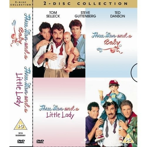 Three Men And A Baby / Three Men And A Little Lady DVD [2005]