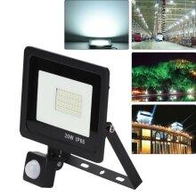 20W PIR Sensor LED Energy Saving Flood Light Outdoor Security Slimline
