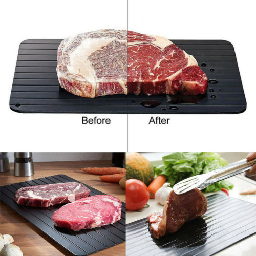 Fast Defrosting Tray Kitchen Defrost Meat Frozen Food Safety Tool