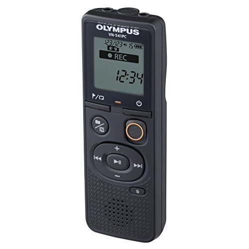 Olympus VN 541PC With PC Link 4GB Black Digital Voice Recorder