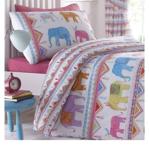 Carnival Elephants Double Bedding Sets.