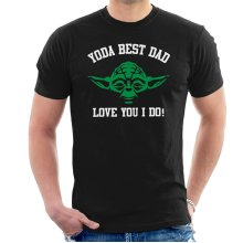 Dad Yoda Best Love You I Do Star Wars Men's T-Shirt