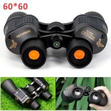 60x60 Day&Night Military Army Zoom Powerful Binoculars Optics