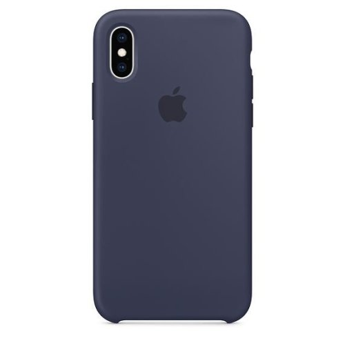 Apple iPhone XS Silicone Case MRW92ZM/A - Midnight Blue