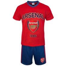Arsenal FC Official Football Gift Mens Short Pyjamas Loungewear