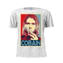 Kurt Cobain T Shirt Rock and Roll Legend Tee Unisex Trendy Men T Shirt