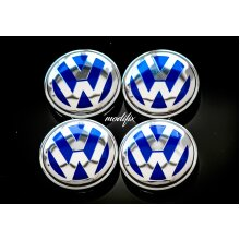 MODIFIX   VW Alloy Wheel Centre Cap Caps 4pcs Genuine Modified 56mm VW Golf GTI Eos Beetle CC 1J0601171