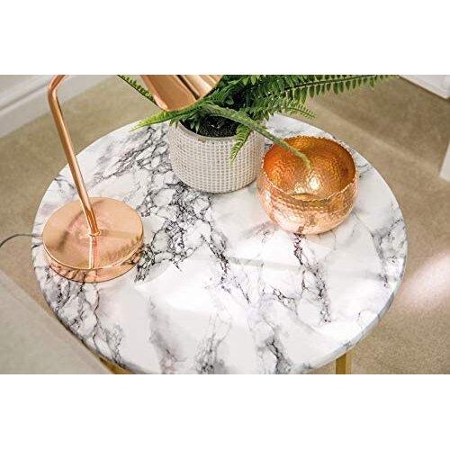 Kitchen Vinyl Marble Design Self Adhesive Back Film Wrap Roll