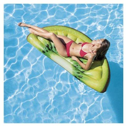 Intex 58764 Kiwi Slice Inflatable Floating Mattress