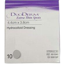 DuoDERM Extra Thin Spots Dressings 4.4cm x 3.8cm x 10