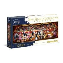 Clementoni 39445 Disney Panorama Collection Clementoni-39445-Disney Panorama Collection-Disney Orchestra-1000 Pieces, Multi-Colour