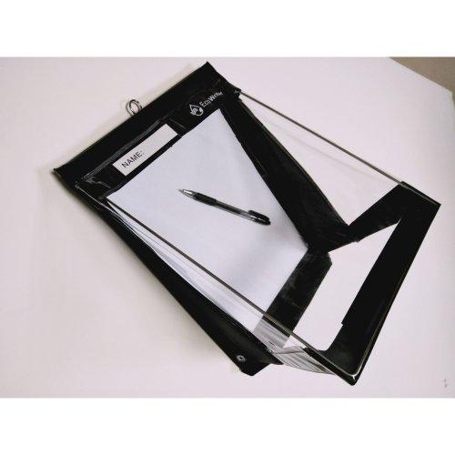 RainWriter EcoWriter Black A4 Portrait Clipboard | Outdoor Clipboard