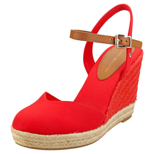 Tommy Hilfiger Basic Closed Toe High Womens Wedge Sandals