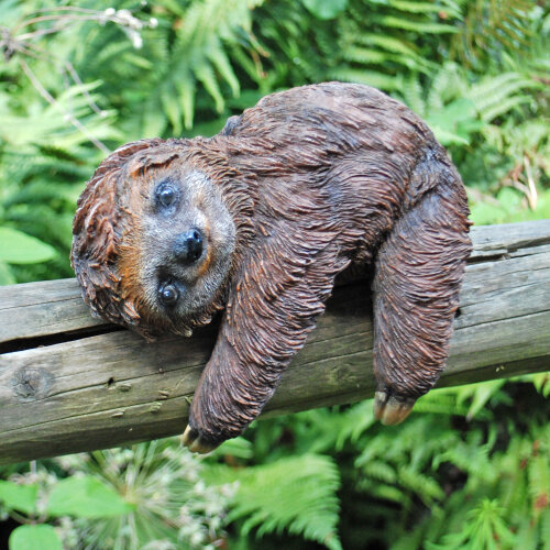 Climbing or Laying Sloth Garden Animal Ornament Outdoor Statue