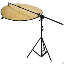 """5-in-1 Handheld Multi Reflector Disc Kit inc Boom & Stand - 60cm (23"""")"""