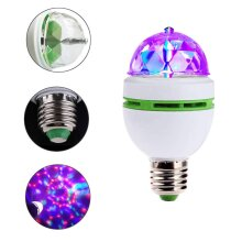 3W RGB Led Lamps E27 Lampada Led Bulb Stage Light Disco DJ Party Lamp