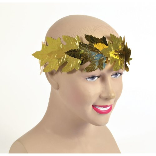 LAUREL LEAF HEADBAND TOGA ROMAN COSTUME ACCESSORY