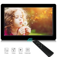 Digital Photo Frame,2020 Newest UI Design YENOCK 8.2 inch 1280 x 720 High Resolution Full IPS Photo/Music/Video Player Calendar Alarm with Remote Co
