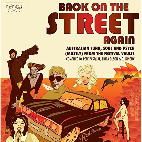 BACK ON THE STREET AGAIN [CD]