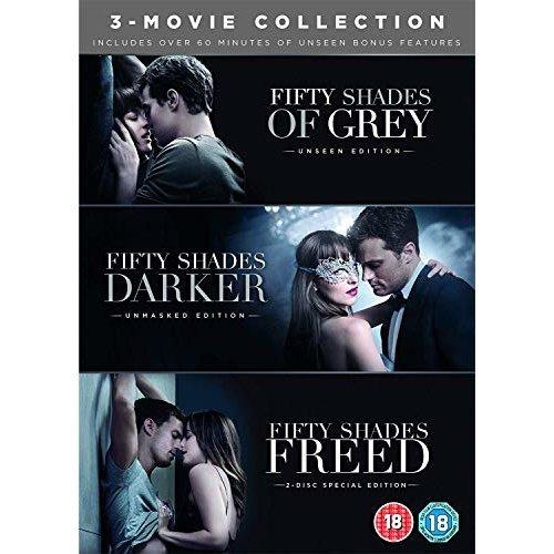 FIFTY SHADES FREED 3 MOVIE BOXSET DVD and [DVD]
