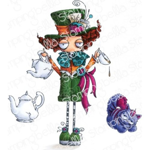 Stamping Bella Cling Stamps-Oddball Mad Hatter