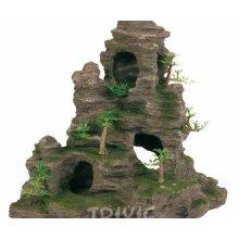 Rock Formation With Cave And Rosin 31 Cm, Decorative Items, Aquarium Decoration, Aquarium