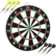 "17"" Michael van Gerwen Double-Sided Dartboard Set | Dartboard & Darts"