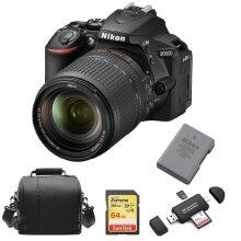 NIKON D5600 KIT AF-S 18-140mmED VR DX+64Gcard+Bag+EN-EL14A+Card Reader