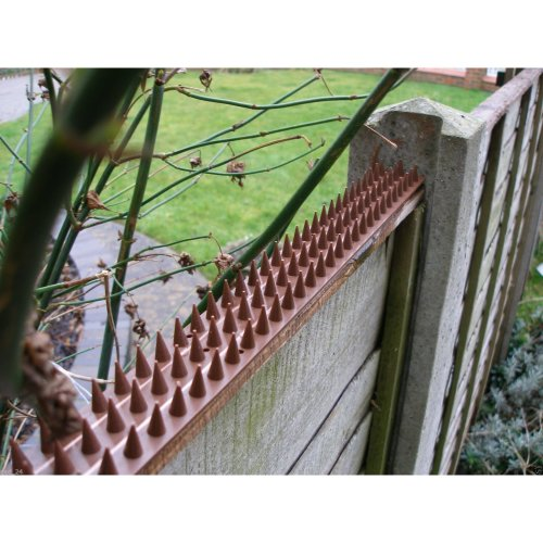 10 Fence Wall Spikes AntiClimb Guard Security Spikes Bird Repellent Deterrent