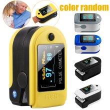 Random Color Fingertip Pulse Oximeter OLED Heart Rate Oxygen Monitor YL52