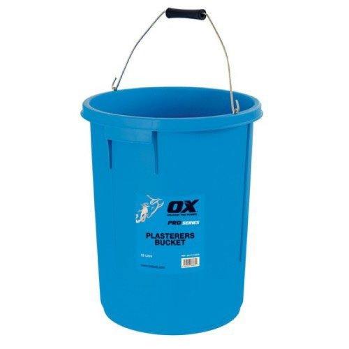 Ox P110825 Pro Plasterers Bucket 5 Gallon 25 Litre Blue