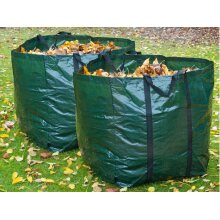 Livivo Heavy Duty Large Set Of 2 Premium Garden Waste Bags Weed Green