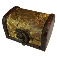 Medium Colonial Boxes - Gold Panel