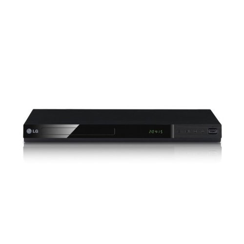 LG DP542H Compact DVD Player With 1080p Upscaling And Direct USB Recording Black
