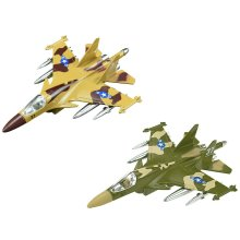 KIDS ARMY FIGHTER JET WITH LIGHTS AND SOUNDS MILITARY ACTION ADVENTURE