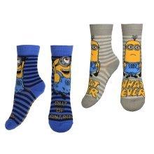 Minions Socks - Pack of 2