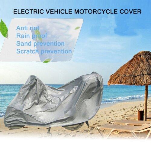 Full Protective Motorcycle Covers Anti UV Waterproof Dustproof Breathable Hood