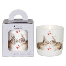 """Wax Lyrical Wrendale """"Hoppily Ever After"""" Ceramic Candle"""