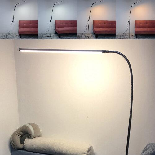 Floor Standing LED Lamp Adjustable Table Desk Lighting