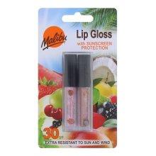 Malibu SPF 30 Coconut and Strawberry Flavour Lip Gloss, 2-Piece